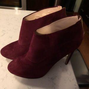 Brand new Burgundy booties. Size 8.